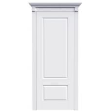 Ульяновская дверь Британия-1А15 белая эмаль ДГ