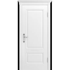 Ульяновская дверь Британия-1 белая эмаль ДГ