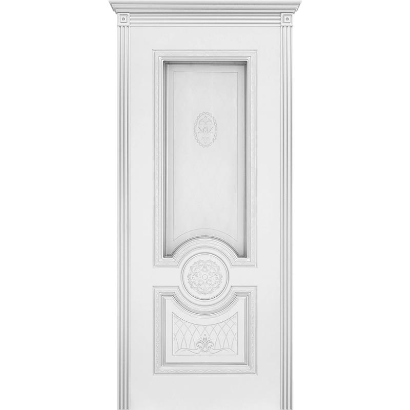 Ульяновская дверь Гамма белая эмаль ДО
