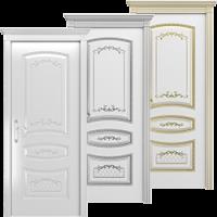 Крашенные двери Соната
