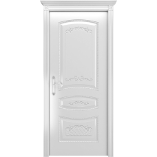 Ульяновская дверь Соната белая эмаль ДГ