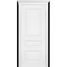Ульяновская дверь Турин белая эмаль ДГ
