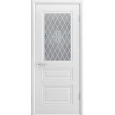 Ульяновская дверь Турин-С белая эмаль ДО-2
