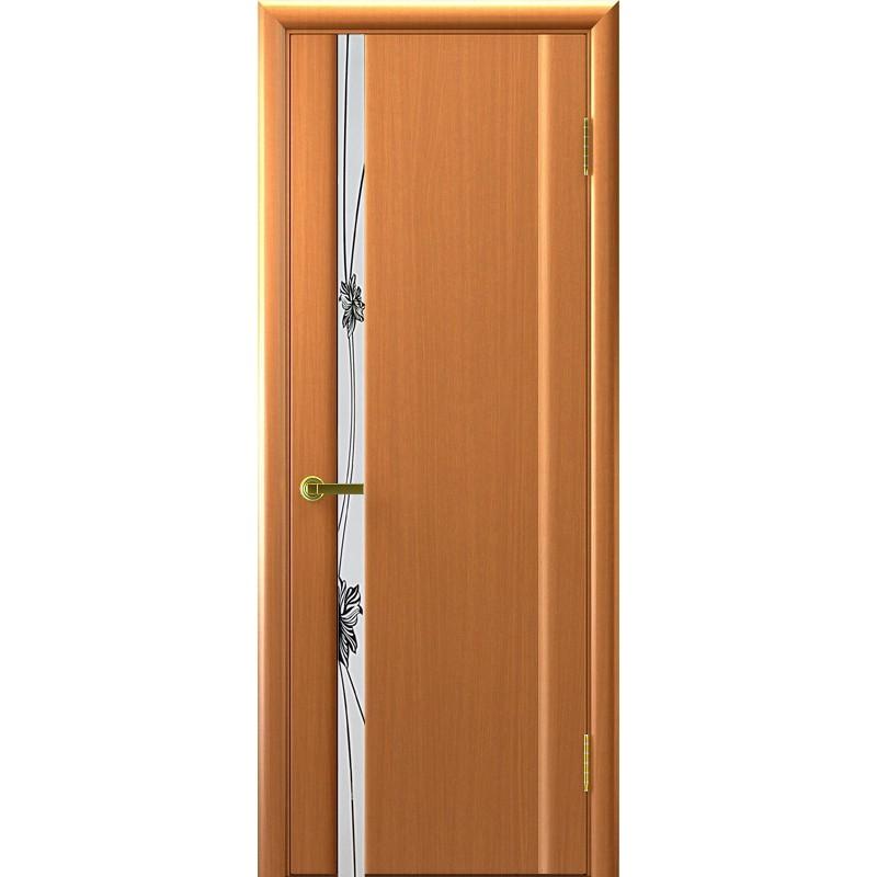 Ульяновская дверь Стэлла-1 светлый анегри