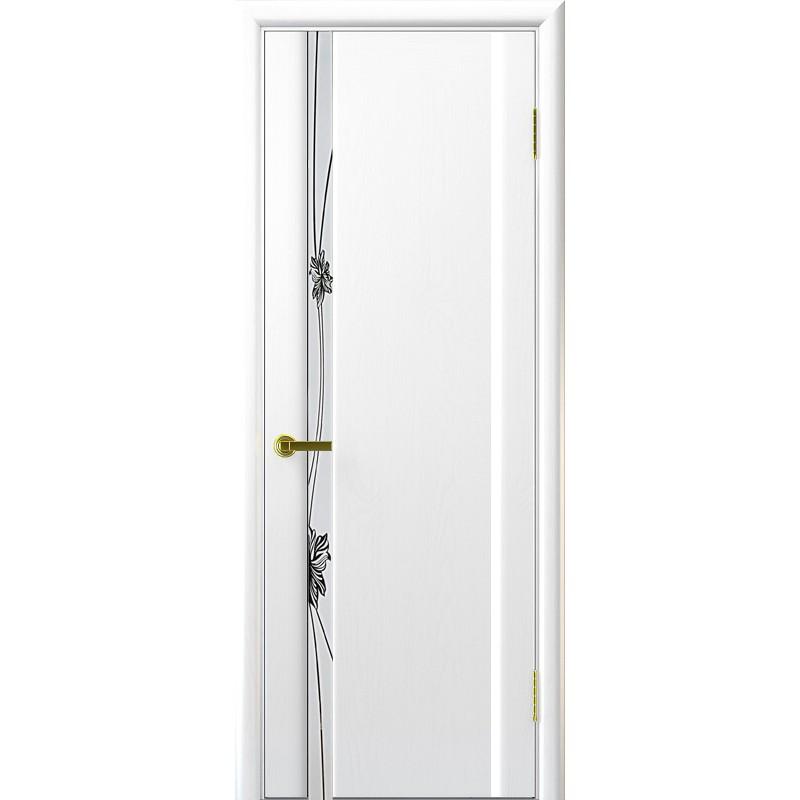 Ульяновская дверь Стэлла-1 ясень жемчуг