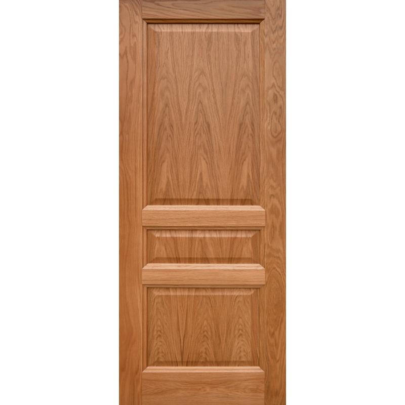 Ульяновская дверь Готика натуральный дуб ДГ