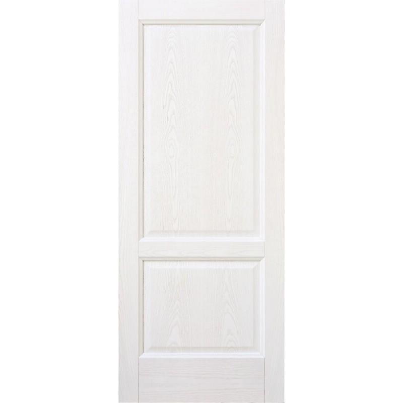 Ульяновская дверь Классик белый ясень ДГ