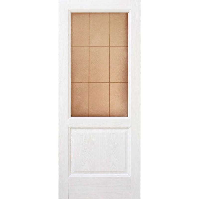 Ульяновская дверь Классик белый ясень ДО