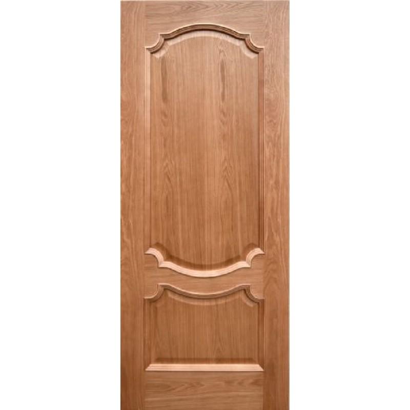 Ульяновская дверь Венеция-3 натуральный дуб ДГ