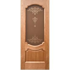 Ульяновские двери Венеция-3 натуральный дуб ДО