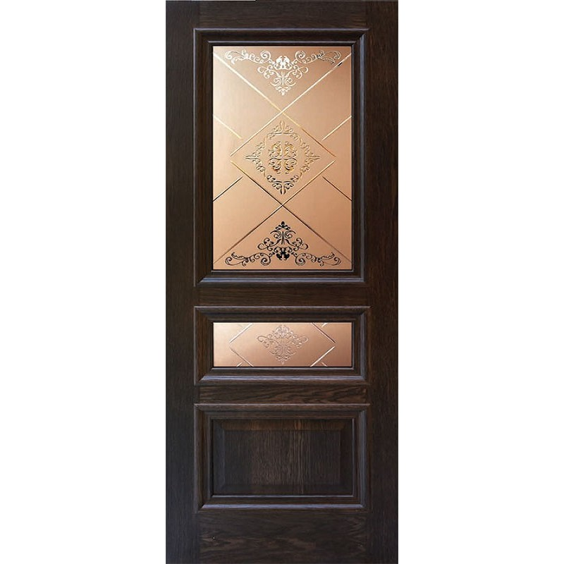 Ульяновская дверь Верона английский дуб ДО