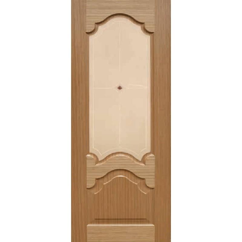 Ульяновская дверь Виктория дуб файн-лайн ДО