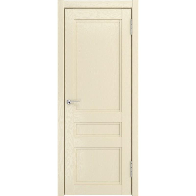 Межкомнатная дверь экошпон K-2 ДГ айвори софтач