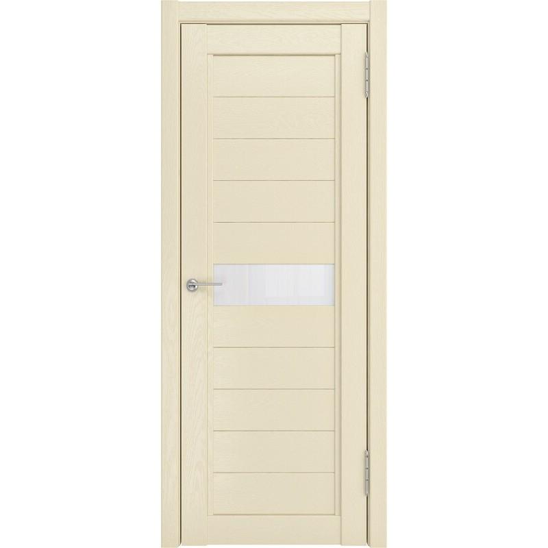 Межкомнатная дверь экошпон LH-1 айвори софтач