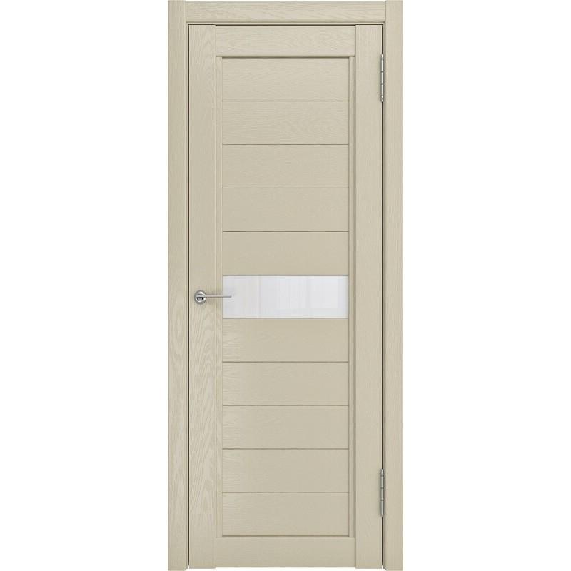 Межкомнатная дверь экошпон LH-1 капучино софтач