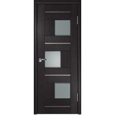 Дверь экошпон ЛУ-11 венге