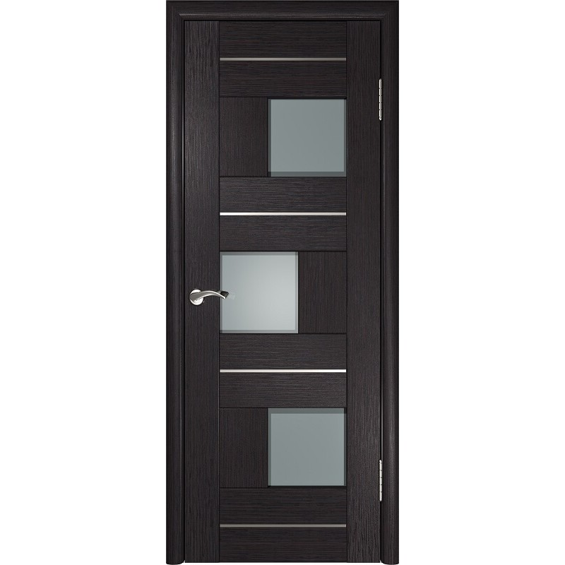 Межкомнатная дверь экошпон ЛУ-11 венге