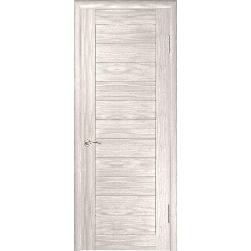 Межкомнатная дверь экошпон ЛУ-21 капучино