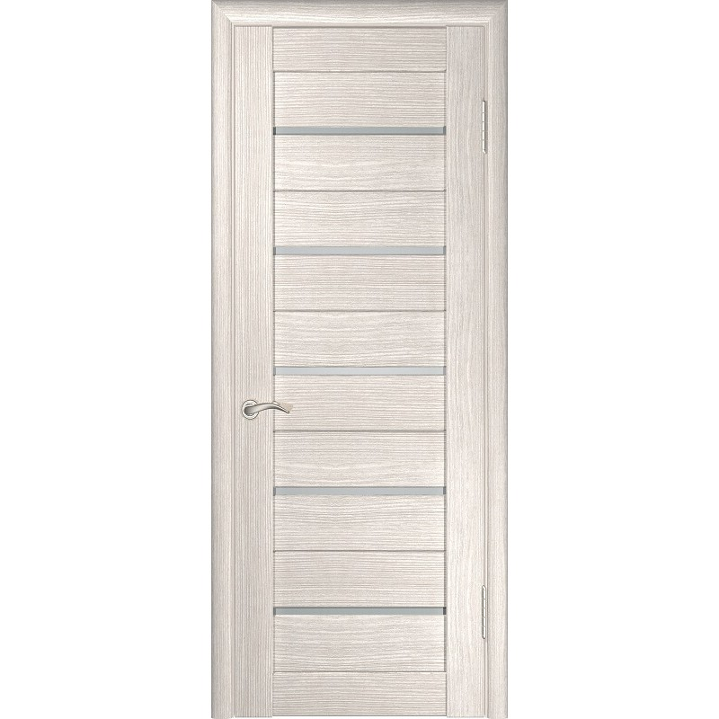 Межкомнатная дверь экошпон ЛУ-22 капучино