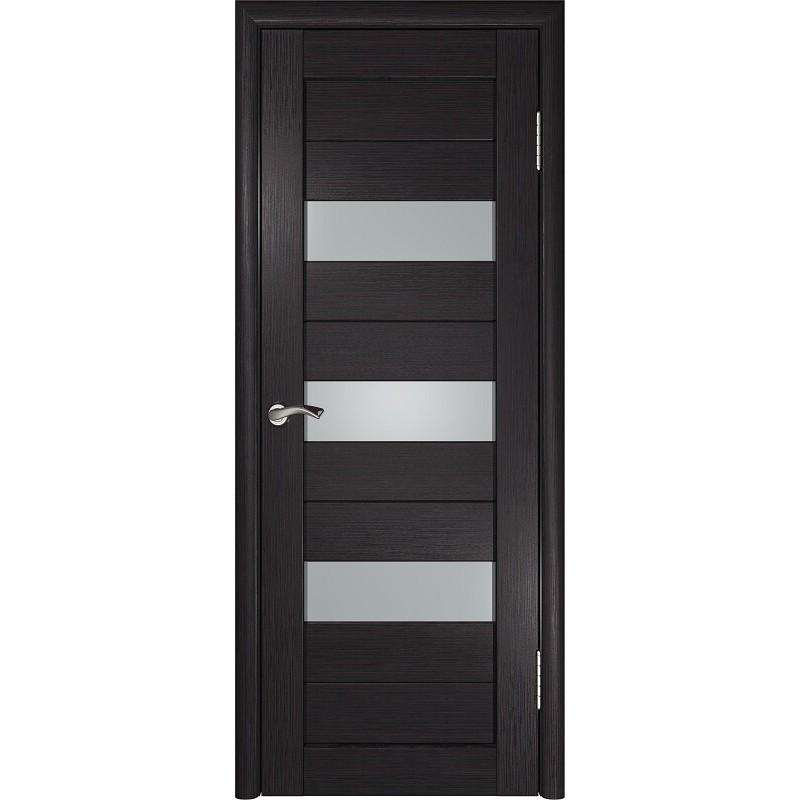 Межкомнатная дверь экошпон ЛУ-23 венге