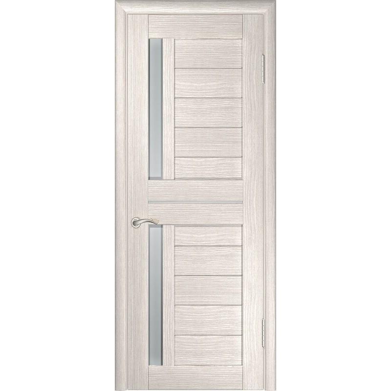 Межкомнатная дверь экошпон ЛУ-27 капучино