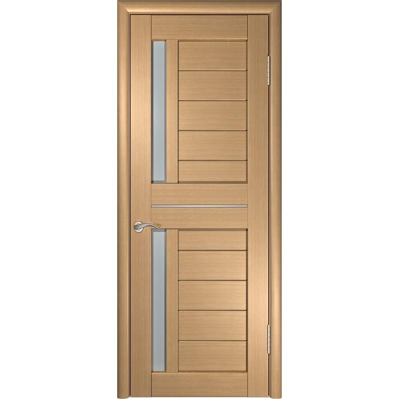Межкомнатная дверь экошпон ЛУ-27 орех