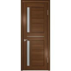 Дверь экошпон ЛУ-27 тёмный орех