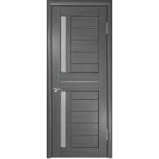 Дверь экошпон ЛУ-27 серая