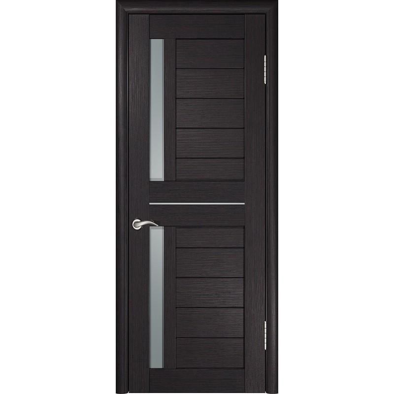 Межкомнатная дверь экошпон ЛУ-27 венге