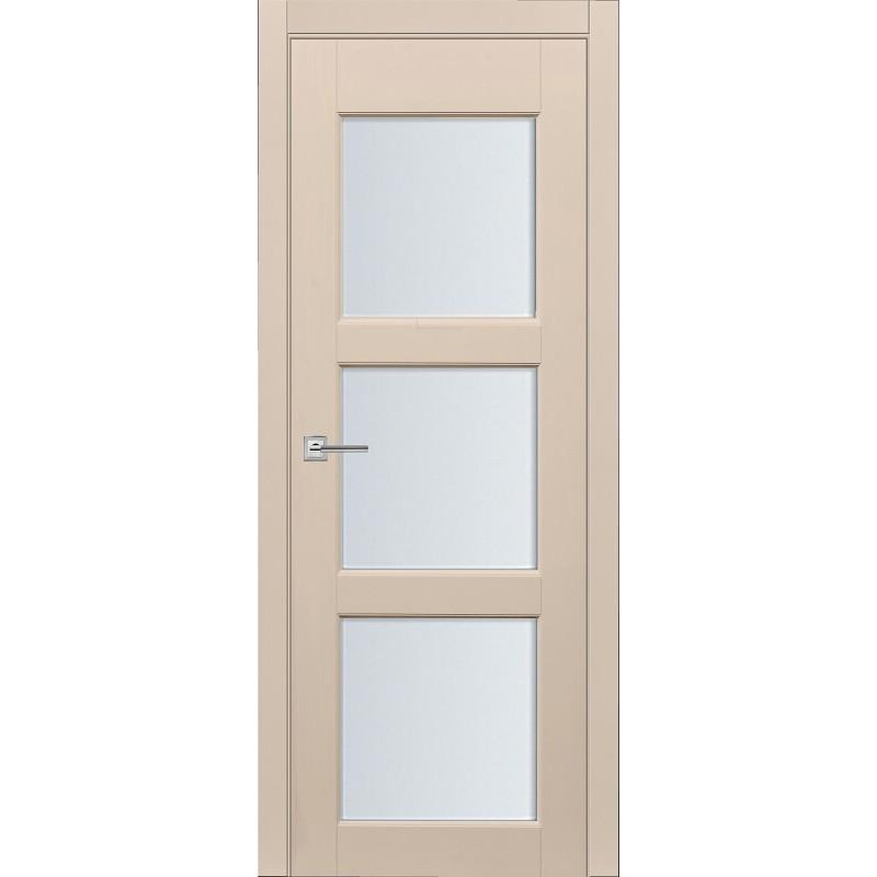 Межкомнатная дверь Турин-10 эмаль ваниль ДО