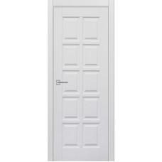 Межкомнатная дверь Турин-13 белая эмаль ДГ