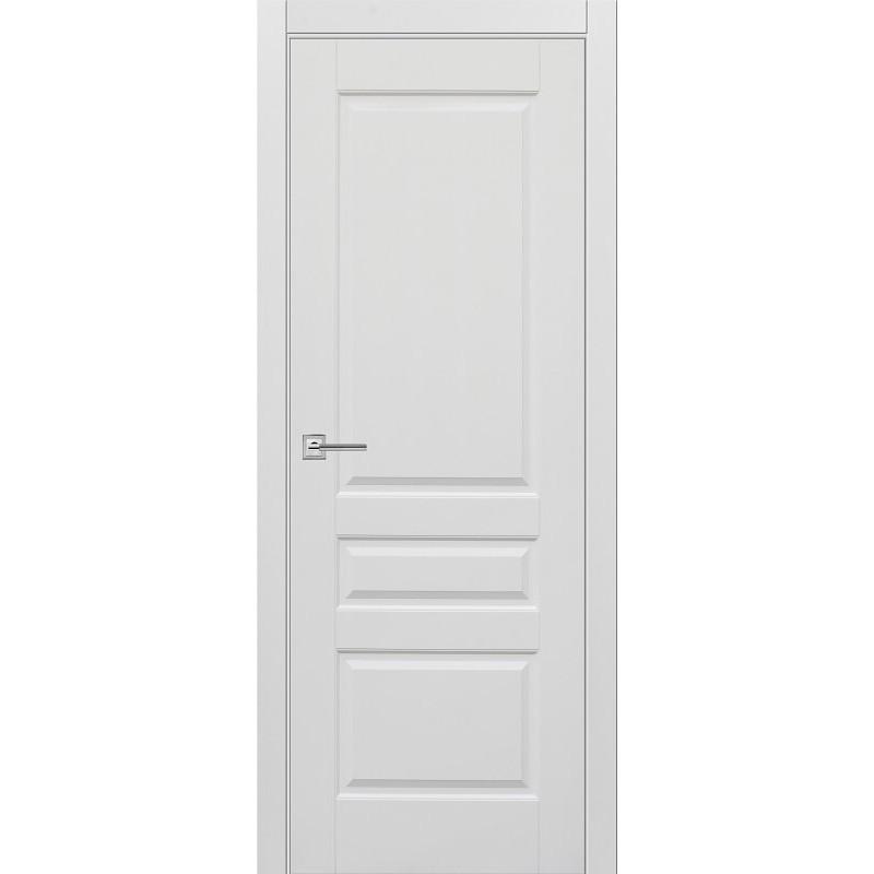 Межкомнатная дверь Турин-4 белая эмаль ДГ