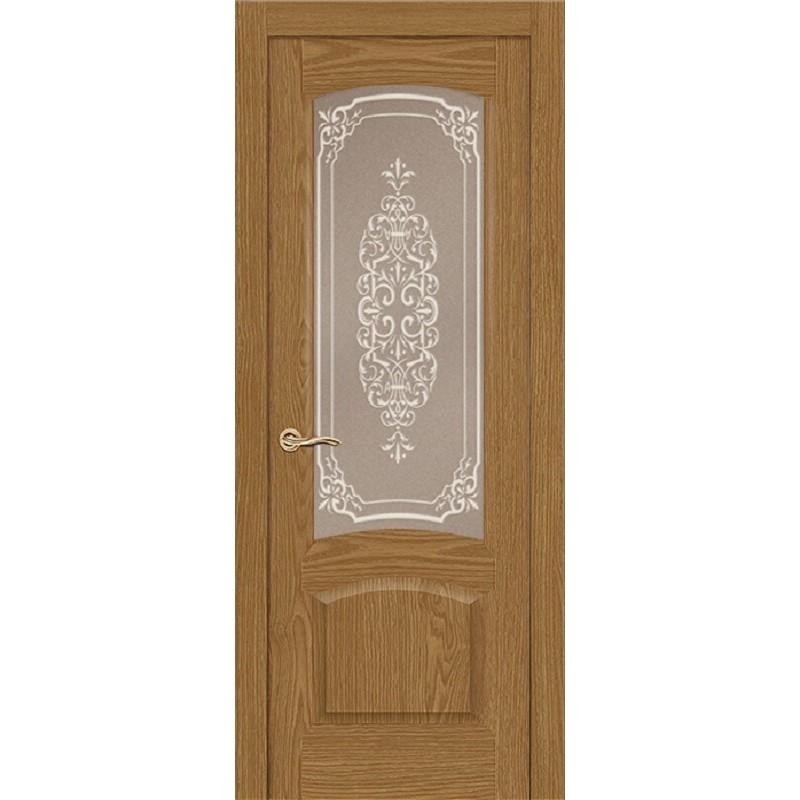 Дверь ульяновская Александрит(Комфорт) дуб ДО