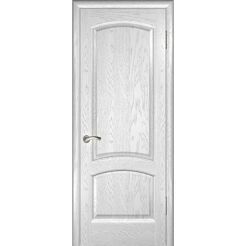 Дверь ульяновская Александрит(Комфорт) дуб молочный ДГ