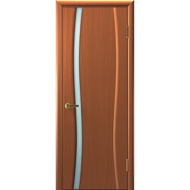 Дверь ульяновская Диадема-1(Комфорт) тёмный анегри ДО