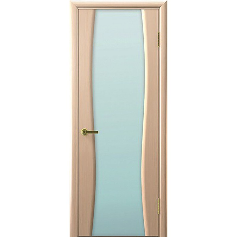 Дверь ульяновская Диадема-2(Комфорт) белёный дуб ДО