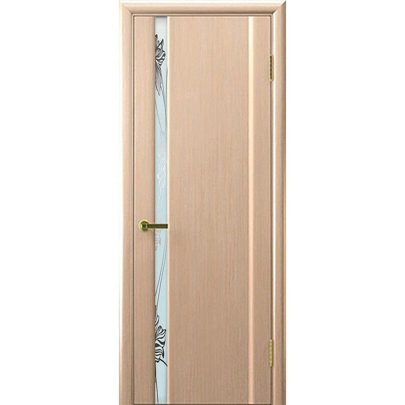 Ульяновская дверь Экзотика-1 белёный дуб