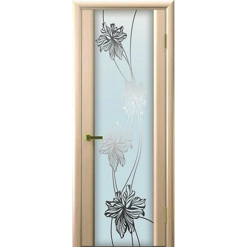 Ульяновская дверь Экзотика-3 белёный дуб