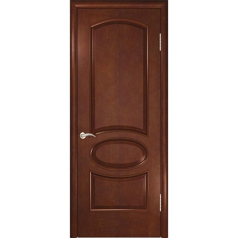 Ульяновская дверь Жемчужина-2 анегри шоколад ДГ