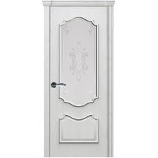 Ульяновские двери Рубин-2 дуб молочный ДО