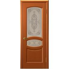 Двери ульяновские Топаз тёмный анегри ДО