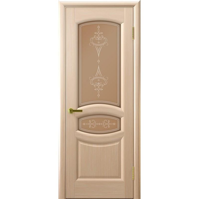 Ульяновская дверь Анастасия белёный дуб ДО