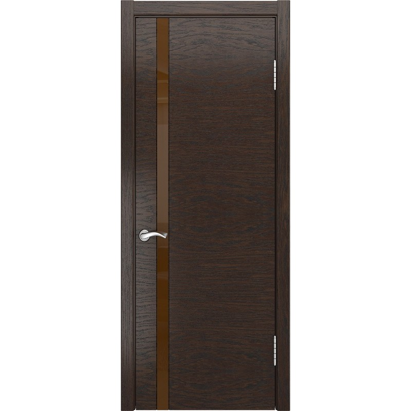 Ульяновская дверь Арт-3 морёный дуб