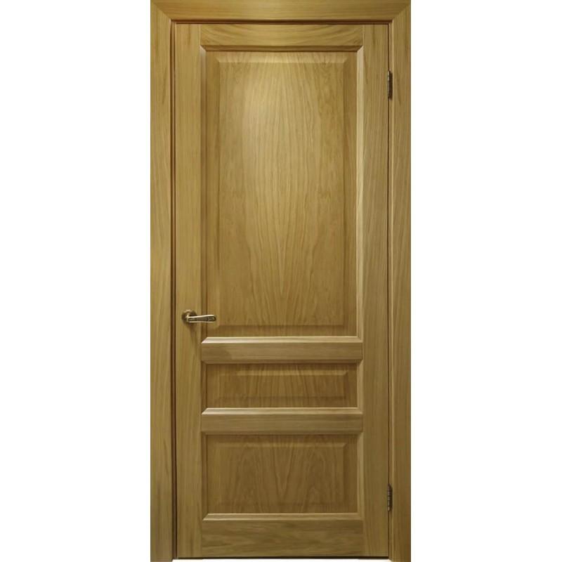 Ульяновская дверь Атлантис-2 дуб натуральный ПГ