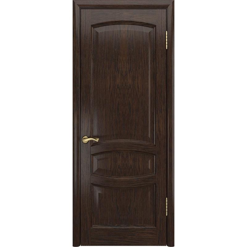 Ульяновская дверь Деметра морёный дуб ДГ