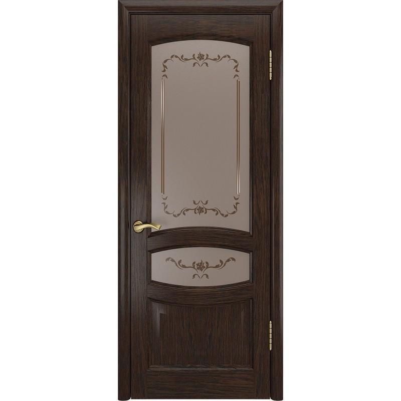 Ульяновская дверь Деметра морёный дуб ДО