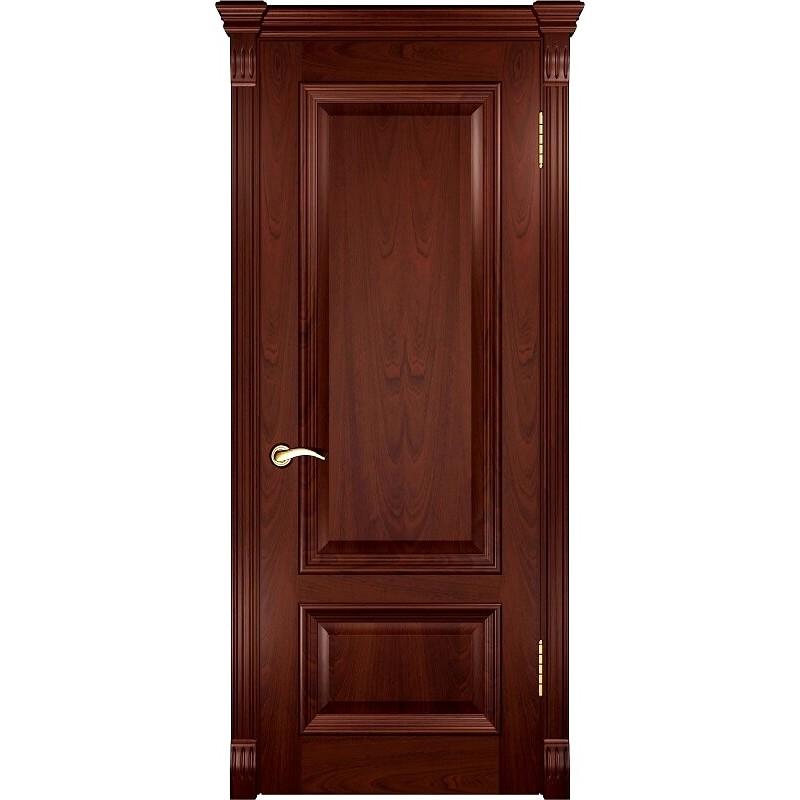 Ульяновская дверь Фараон-1 красное дерево ДГ