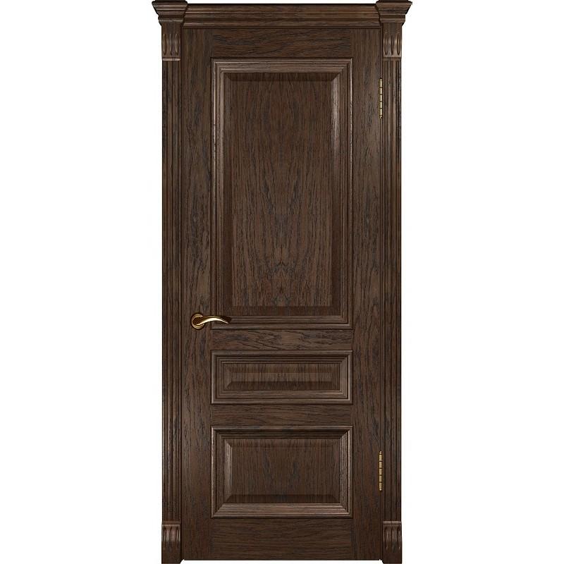 Ульяновская дверь Фараон-2 морёный дуб ДГ