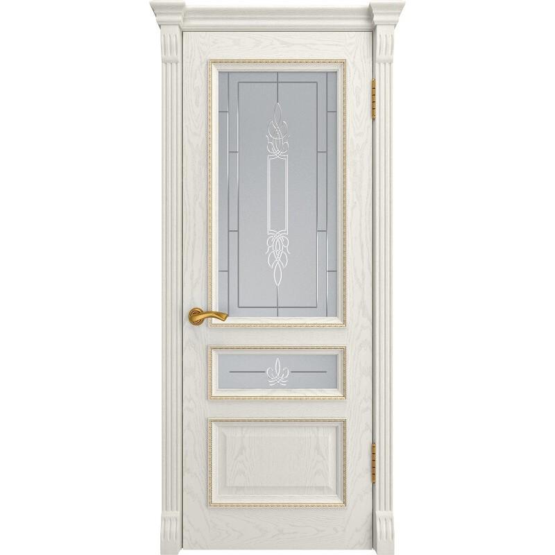 Ульяновская дверь Фемида-2 дуб RAL 9010 ДО