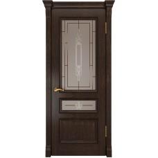 Ульяновские двери Фемида-2 морёный дуб ДО